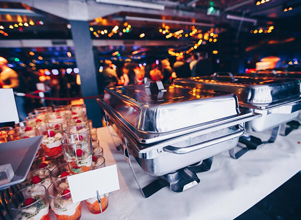 Weihnachtsbuffet in der Club Hamburg Eventlocation